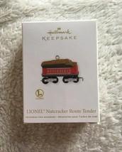 Hallmark Keepsake Lionel Nutcracker Route Tender Ornament New - $11.87