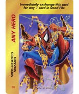 Marvel Overpower Web-Headed Wizard Card - $5.69