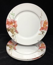 "Oneida Amore // Dinner Plates // Set of 4 / Porcelain //  10.5"" // Wild Rose - $89.09"