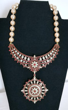 Retired Heidi Daus Swarovski Crystal Statement Necklace with Removable P... - $225.00