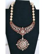 Retired Heidi Daus Swarovski Crystal Statement Necklace with Removable P... - $225.00