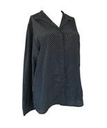 Vintage Christian Dior Dress Shirt Button Up Blouse Size 10 - $49.99