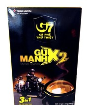 Trung Nguyen G7 Instant 3-In-1 Strong x 2 Coffee Mix 12 Sticks x 25 g -US SELLER - $13.09