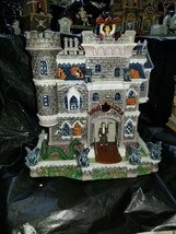 LEMAX Spooky Town Porcelain Haunted House - Castle On Spooky Hill *No Sound* - $84.99