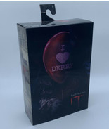 """NECA IT 7"""" Pennywise Action Figure Bloody Edition I Heart Derry - $39.59"""