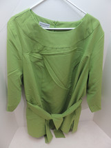 Jessica London 13-0015-1 Green 2pc Pant Suit Size 20 - NEW - $34.60