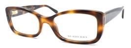 Burberry B 2130 3316 Women's Eyeglasses Frames 51-18-135 Brown Tortoise ITALY - $39.50