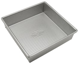 USA Pan Bakeware Square Cake Pan, 8 inch, Nonstick & Quick Release Coati... - ₹1,390.67 INR