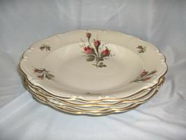 "4 Vintage Rosenthal China Pompadour Selb Germany 10"" Rimmed Soup Bowls NICE - $64.35"