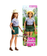 """Year 2019 Barbie Career You Can Be Anything 12"""" Doll Curvy PARK RANGER G... - $24.99"""