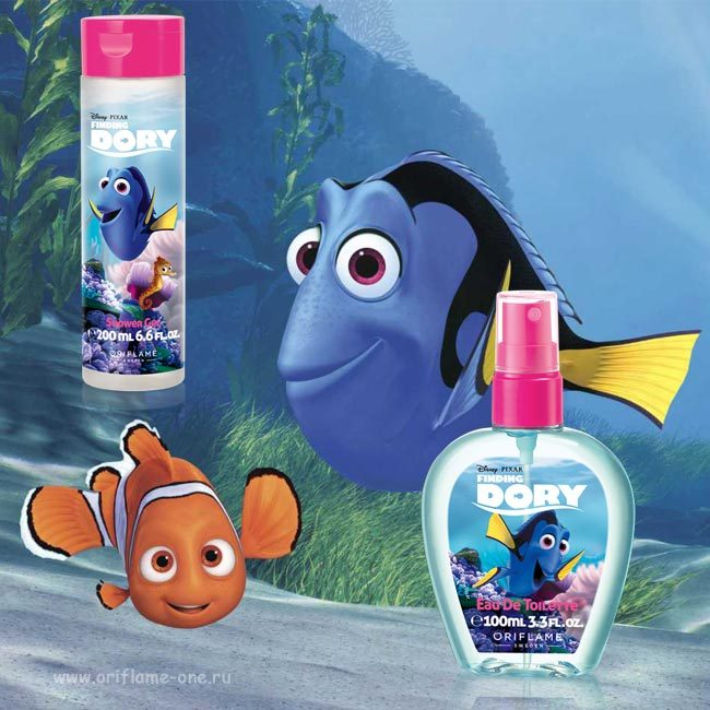 Temporarily out of sale! Shower gel Finding Dori Disney Oriflame 200ml kids wash