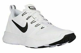 Nike Men Free Train Versatility Running Sneaker 833257 100 White Black 18 - $74.24