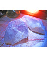 Haunted AMETHYST CRYSTAL HEAL & EMPOWER MAGICK ONE CRYSTAL Cassia4  - $9.44