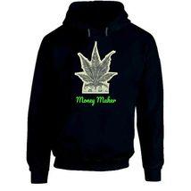 Money Maker 420 Canna Hoodie image 7