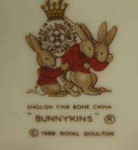 Royal Doulton Bunnykins Hug A Mug FAMILY WITH PRAM 1 Handled Bone China England image 4