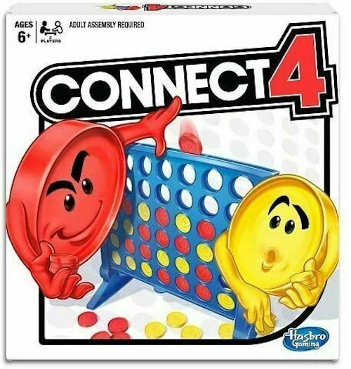 Connect 4 Strategy Board Game  BRAND NEW  & SHIPS VIA EXPEDITED SHIPPING - $14.49