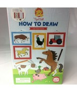 Tiger Tribe How To Draw Set On the Farm Arts and Crafts - $18.69