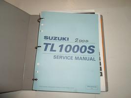 1997 2001 Suzuki TL1000S Service Manuel Liant Minor Taches Écriture Housse Eau - $39.74