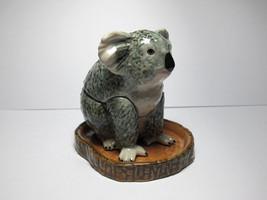 Handicraft Miniature Collectible Porcelain Koala Salt and Pepper S&P - $9.90