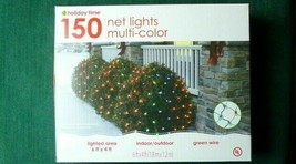 Holiday Time  150 Ct Net Lights  Multi-Color  6 ft. by 4 ft - $10.87