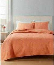 $160 Martha Stewart Collection CLOSEOUT! 100% Cotton Atlantic Palm Twin Quilt - $79.99