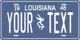 Louisiana 1948 License Plate Personalized Custom Car Bike Motorcycle Moped Tag - $10.99+