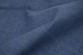 43'' Wide Handworked Fabric Thick Canvas Fabric Mazarine (17.5 43 Inches)