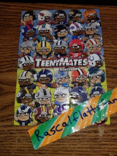2018 TEENYMATES SERIES 7 COMPLETE NFL PUZZLE SET / ALL 35 PIECES - BRAND NEW image 2