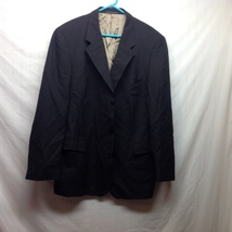 Ferrini Fully Lined 100% Wool Suit Jacket Sz 44L