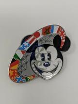 Epcot World Showcase Mickey Mouse WDW Walt Disney World Pin Trading - $7.91