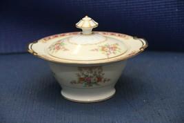 """Noritake China 6"""" Sugar Bowl w/Lid - Vintage Floral Pattern - $19.55"""