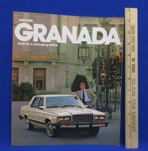 Vintage 1981 Ford Granada Car Dealership Brochure Information Booklet Sales - $7.91