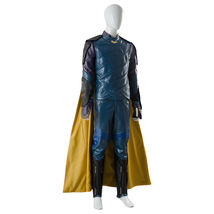 The Avengers Thor 3 Ragnarok Loki Tom Sakaar Suit Cape Cosplay Costume Outfit image 5