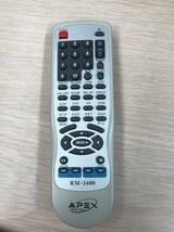Apex Digital RM-1600 DVD Player Remote Control- Tested And Cleaned          (F3)