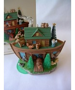 HALLMARK KEEPSAKE CHRISTMAS ORNAMENT NOAH'S ARK 2008 TAMMY HADDIX ARTIST NIB - $19.99