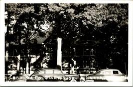 Vtg RPPC 1940s Kodak Coahoma County Tribunal Casa Clarksdale Ms Calle Vista Cars - $23.94
