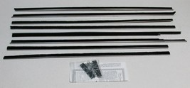 1959-60 CHEVY IMPALA 2 DOOR HARDTOP WINDOW BELTLINE WEATHERSTRIPPING KIT... - $149.33