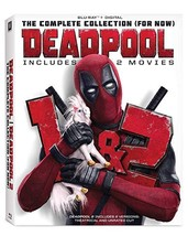 Deadpool 1 & 2 - Complete Collection (For Now) (Blu-ray+Digital, 2018)