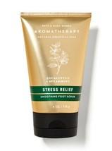 Bath & Body Works Aromatherapy Stress Relief Smoothing Foot Scrub 4 fl o... - £6.53 GBP