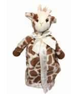 Bearington Baby Patches Giraffe Snuggler Brown Lovey Security Blanket Sa... - $39.00