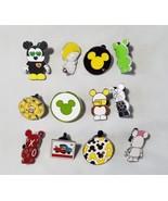 Disney Trading Pins Mickey Mouse + Bonus Cars Collectible Lot 12 Lanyard - $55.23