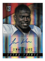 2014 Jimmie Ward Panini Prestige Draft Picks Rookie Red Auto - 49ers - $2.84