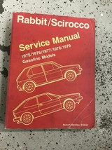 1975 1976 1977 1978 1979 VW RABBIT SCIROCCO Service Shop Repair Manual - $14.80