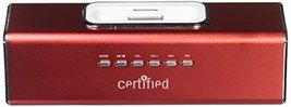 Certified Music Box Mini Portable Speaker (Red) - $12.99