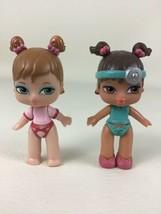 """Itsy Bitsy Bratz Dolls 2pc Lot Sorya and Yasmin Mini 2.5"""" Figures Bobble... - $24.70"""