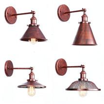 20th C. Filament Sconce Antique Rust E27 Light Sconce Home Lighting Fixture - $47.52+
