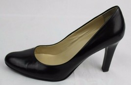 Lauren Ralph Lauren Zamora Damen Schwarz Leder Schuhe 9 B - $26.21