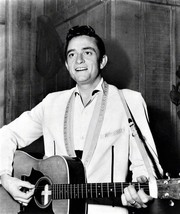Johnny Cash in a photo taken in the 1950's  - $7.18
