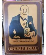 Chivas Regal Sign Daddy Warbucks Vintage - $58.75