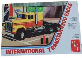 AMT INTERNATIONAL TRANSTAR 4300 EAGLE 1/25 SCALE MODEL KIT NEW FACTORY S... - $65.75